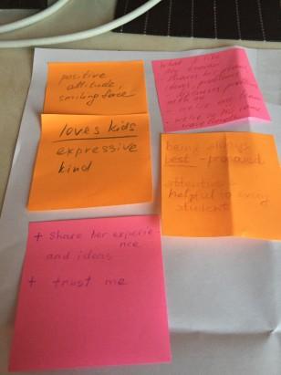 More positive comments than negative about the class teacher