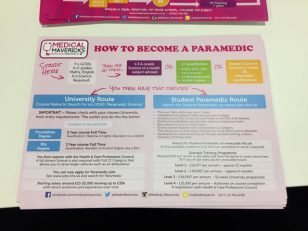 How to be a paramedic