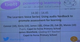 learners voice series