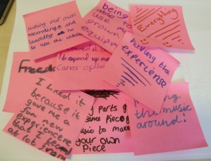 What children thought of our in-house work